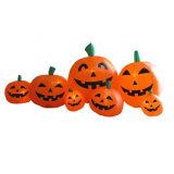 La decoración de Vacaciones felices inflables Halloween Jack-o-lanterns