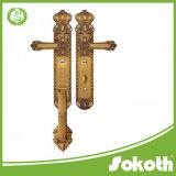 별장과 외부 문을%s 큰 격판덮개에 있는 도매 아연 합금 손잡이 자물쇠