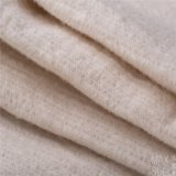 Tessuto cotone/delle lane per il cappotto di inverno nel bianco
