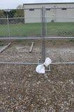Загородка звена цепи коммерчески конструкции безопасности загородки загородки селитебной индивидуальной временно