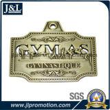 切り取られるの顧客の連続したメダル