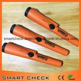 オレンジ手持ち型の金属探知器の地下の金属探知器の金の探知器