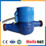 Счетчик воды Modbus стопа магнита Hamic латунный от Китая