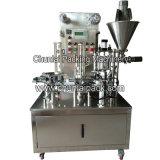 K-Cup-Kaffee-Plombe und Dichtungs-Stickstoff-leerende Verpackungsmaschine