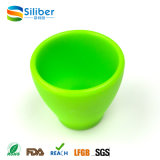 Tazza di tè su ordinazione del silicone del commestibile di colore da vendere
