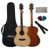 Guitarra acústica Handmade do OEM do preço de grosso para a venda