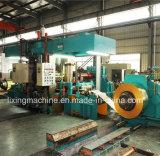 Máquina de dobra hidráulica da placa de aço de 4 rolos