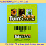 Cartão de plástico com barras de impressão do DOD/EAN13 para cartão de fidelidade