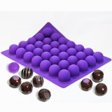 Molde del chocolate del silicón de la categoría alimenticia
