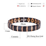 Hottime incanta il braccialetto di ceramica per la signora con l'indennità-malattia della prova del certificato