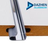 Perfil de alumínio de pureza de 98% para painel Slatwall Mill concluir os insertos de alumínio