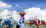 Cool! China Atracciones Crazy Dance de estacionamiento y área de juegos