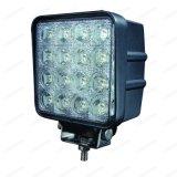 Luz campo a través Bridgelux del trabajo de la pulgada 48W LED de la alta calidad 12V 4.3
