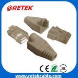8P8C ficha modular da rede cap para Cat5/Cat6 cabo patch cord