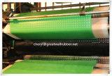 Het lichtgroene Niet-toxische RubberBlad van de niet-Geur SBR met Certificaat PAHs