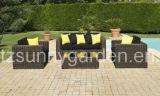 Для использования вне помещений плетеной диван (SG1183)