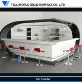 Специальный дизайн мебели в коммерческих целях светится светодиод бар счетчик