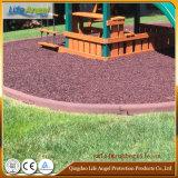 庭の安全証拠のゴム製端のボーダーゴム製運動場のボーダー