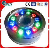 Luces subacuáticas coloridas de la fuente de la alta calidad LED