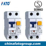 CFB6L Residual Current Circuit Breaker met Overload Protection (RCBO)