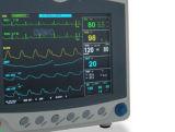 De Monitor van het bed met ECG, SpO2, NIBP & Parameters Resp