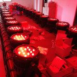IP65 54*3W RGBW impermeabilizzano l'indicatore luminoso di PARITÀ del LED per la fase esterna