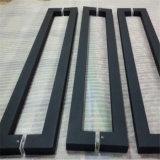 Großer Edelstahl-Glastür-Griff-Spray-Lack-schwarze oder weiße Farbe des Griff-304