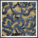 古典的な網の刺繍のレースの葉のテュルの刺繍のレース