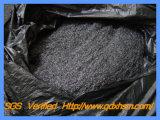 Grasa natural Negro plateado el polvo de grafito