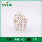 卸売によってリサイクルされるアイスクリームの紙コップ