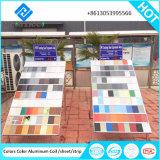 カラーによって塗られるアルミニウムコイルはのための天井板のタイルの白カラーを打ち抜く