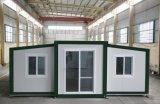 Ampliable de mejor venta edificio de la construcción de la casa de contenedores