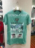 Maglietta adatta differente di stampa di alta qualità e di colore in vestiti di usura di sport dell'uomo
