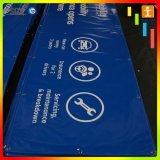 カスタム印刷の屋外広告のビニールPVC屈曲の旗(TJ-BO1)