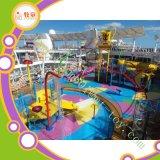 大きいガラス繊維水公園は子供水運動場水演劇を滑らせる