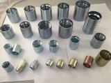 Fabriqué en Chine de matériel en acier au carbone les connecteurs de raccord de flexible
