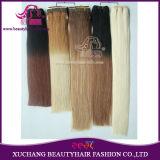 La meilleure qualité Ombre hair extension la plus épaisse de la trame Remy Hair