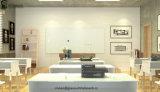 Les panneaux secs d'écriture en verre magnétique de fourniture de bureau sèchent des téléconférences d'effacement
