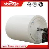 """Papier de transfert de sublimation de la teinture 66GSM du roulis enorme 52 """" pour l'imprimante à jet d'encre à grande vitesse"""