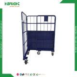 3 versah Supermarkt-Rollenbehälter-Rahmen mit Seiten