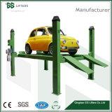 GG-Marken-Cer 4.5 Tonnen hydraulische vier Pfosten-Selbstfahrzeug-Auto-Aufzug-für Ausrichtung