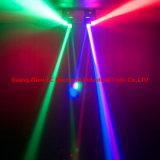 Neuestes 8PCS 10W RGBW 4in1 LED heißes Rad-bewegliches Hauptlicht