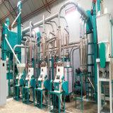 Farine de maïs Ligne de traitement automatique de la farine de maïs machine à fraiser