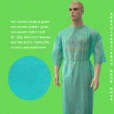 Vestido quirúrgico disponible de Non-Woven/Non Woven/Nonwoven, vestido disponible del aislamiento