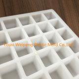 molde concreto de 40*40*40m m (PDK4040-YL) para producir espaciadores reforzados del cuadrado del bloque del amortiguador