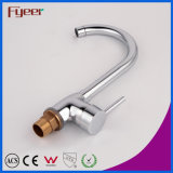 Fyeer Wholesale Cheap Ceramic Cartridge Kitchen Sink Mixer Faucet