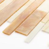 Le mattonelle materiali ecologiche di Backsplash della cucina collegano il mosaico di vetro di disegni