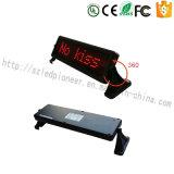 Del LED dell'automobile mini LED tabellone per le affissioni automatico della visualizzazione del contrassegno
