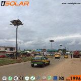 Brazo de doble lámpara de LED 120W de Energía Solar de la luz de la calle