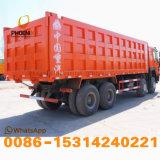 Kipper van de Vrachtwagen van de Stortplaats van Sinotruk HOWO van de voorraad de Gloednieuwe met 12 Banden met Concurrerende Prijs op Hete Verkoop bij de Markt van Afrika